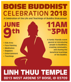 Boise Buddhist Celebration 2018